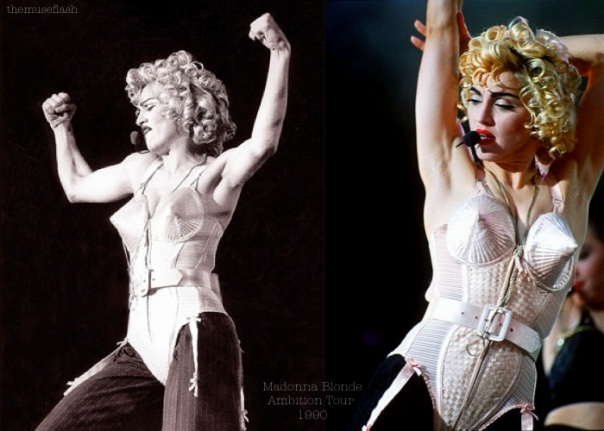 Madonna Blonde Ambition Tour 1990 - feat. the conical bra