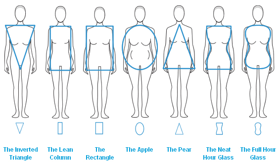 Body Shape Chart from Your New Image