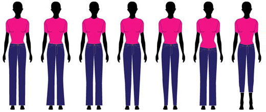 Bottom Styles for the Inverted Triangle