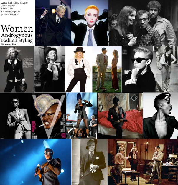 Androgynous Women Fashion Styling