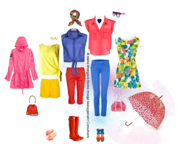 On C for Color: Style board from Meha Bhargava of Styl Inc.